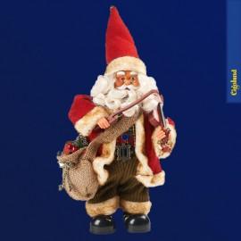 Père Noël avec violon