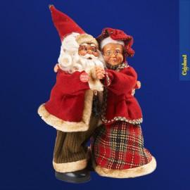 Père et Mère Noël dansant