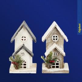 Maison de Noël en bois
