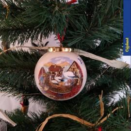 Boule de Noël : le marché de Noël