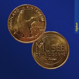 Médaille Souvenirs : Musée de la Cigogne