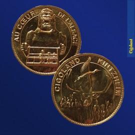 Médaille Souvenirs : Les Daims/King-Kong