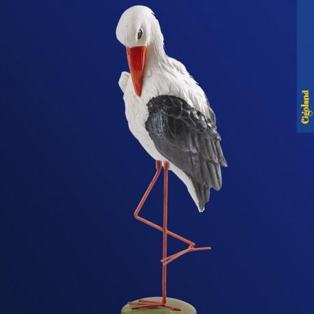 Grande cigogne blanches 35 cm