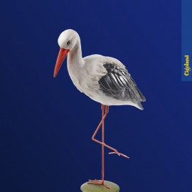 Grande cigogne blanches 43 cm