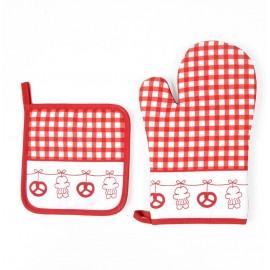 Set gant + manique