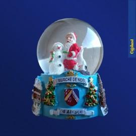 Boule à Neige Marché de Noël d'Alsace