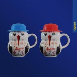 Tasse Cigogne avec Chapeau